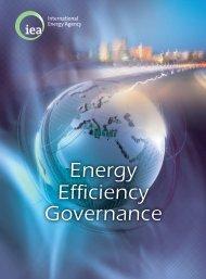 Energy Efficiency Governance - International Energy Agency