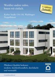 In modernem Bauhausstil! - Projektbau Pfleiderer