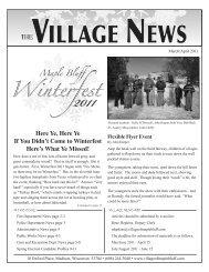 2011 - Village of Maple Bluff