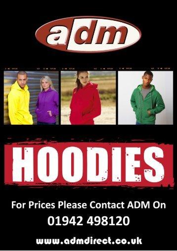Heavyweight Hoodies - ADM Workwear