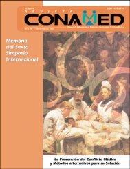Revista CONAMED, Vol. 7, Núm. 2, abril - junio, 2002 - Comisión ...
