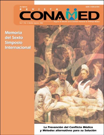 Revista CONAMED, Vol. 7, Núm. 2, abril - junio, 2002 - Comisión ...