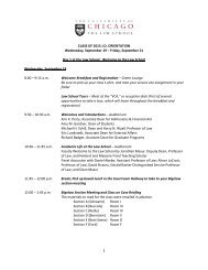FINAL Class of 2015 Orientation Schedule.pdf - University of ...