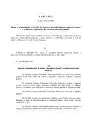 Vyhláška č. 192/2009 Sb., kterou se mění vyhláška č. 645/2004 Sb ...