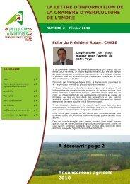 Lettre-info-CA36-2-2012.pdf - Chambre d'agriculture de l'Indre