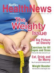 The Weighty Issue - Raffles Medical Group