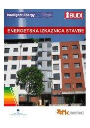 ENERGETSKA IZKAZNICA STAVBE - ZRMK