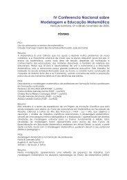 Posteres - Universidade Estadual de Feira de Santana