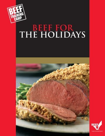 Beef for the - BeefRetail.org