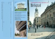 An ArChitECtUrAL hiStOry Of briStOL - Temporary Oblong Page