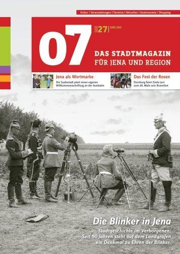 Die Blinker in Jena - 07 Das Stadtmagazin . BLOG