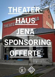 theaterhaus jena sponsoring-offerte