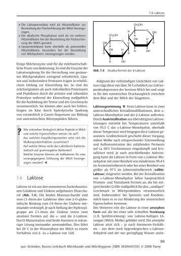 7.6 Laktose