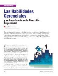 Las Habilidades Gerenciales - Revista El Mueble y La Madera