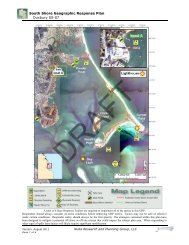 South Shore Geographic Response Plan Duxbury SS-07