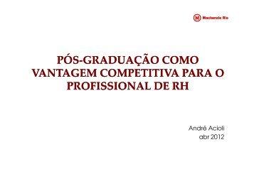 Andre Acioli - ABRH-RJ