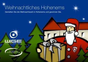 Weihnachtliches Hohenems - Wirtschaftsgemeinschaft Hohenems