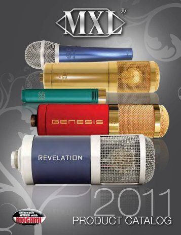 2011 MXL Catalog - RecordingHacks