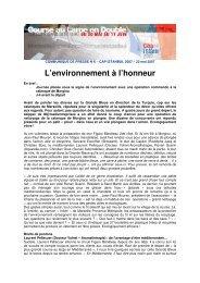 L'environnement à l'honneur - WindreportMedia