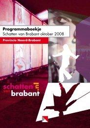Programma 2008, najaar - Schatten van Brabant