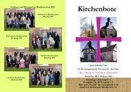 Kirchenbote - Kirchspiel-Obergeis