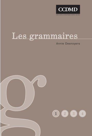 Nouvelle grammaire - ccdmd