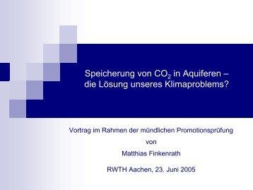Matthias Finkenrath - Lehrstuhl für Brennstoffzellen der RWTH Aachen