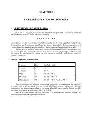systèmes de numération - UQAC