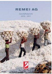 Geschäfts- und Nachhaltigkeitsbericht 10-11 - Remei AG