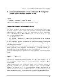 Caratterizzazione dinamica dei terreni di Senigallia e ... - Geoplanning
