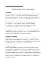 Anhang zur Zwei-Fächer-Prüfungsordnung Schulpraktische Studien ...