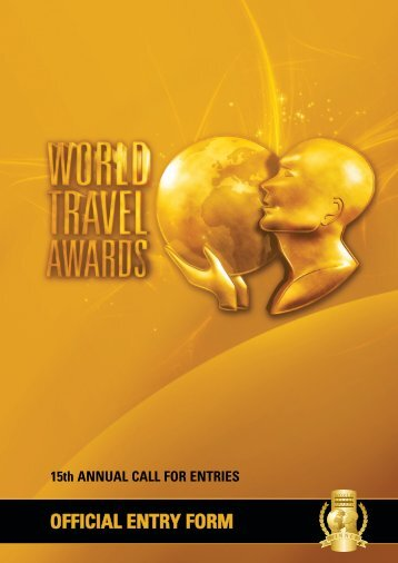 Online Entry Form - World Travel Awards