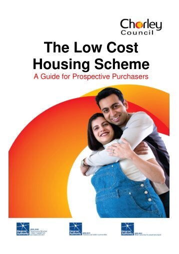 The Low Cost Housing Scheme - Chorley Borough Council
