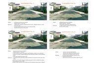 Výhody: - jednostranný normový nový chodník - Statutární město ...