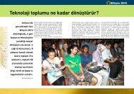 Sosyal Dönüşüm - Bilişim Dergisi