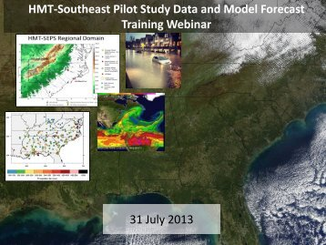 Introductory and Concluding Notes - NOAA