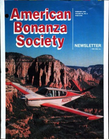 February 1990 - American Bonanza Society