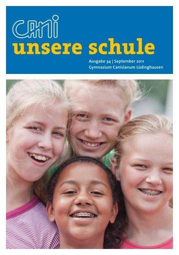 Jahrbuch 2011 - Förderverein des Canisianum - Gymnasium ...
