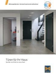 Türen für Ihr Haus (pdf) - Hörmann KG