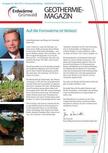 Magazin Ausgabe 8, Mai 2012