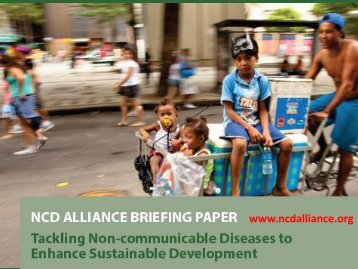 Tackling Non-Communicable Diseases to Enhance Sustainable ...