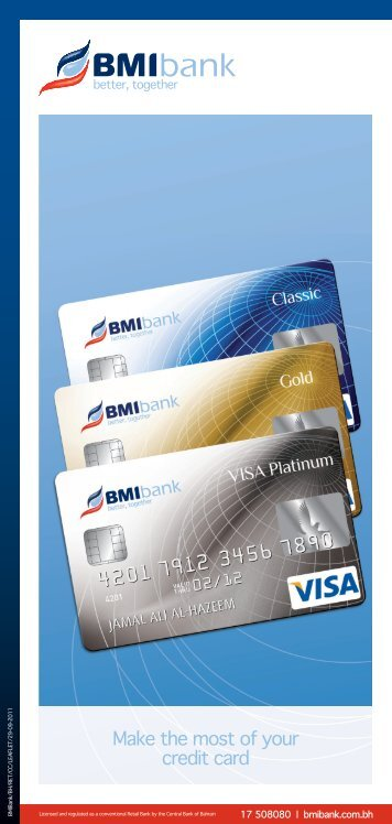 Credit Card Product leaflet New.indd - BMI