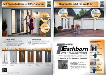 und Tür- Modernisierung: Thomas Eschborn ... - Eschborn Tore