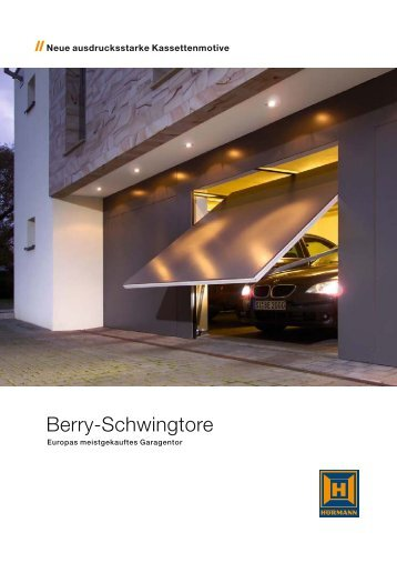 berry schwingtore. Black Bedroom Furniture Sets. Home Design Ideas
