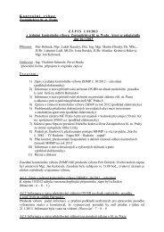 Zápis z 1. jednání Kontrolního výboru ZHMP, ze dne 16.1 ... - Praha.eu