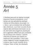 Programme des cours 2010−2011 — Année 5 Art - (ENSA) Dijon - Page 5