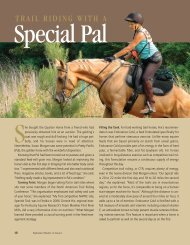 Trail Riding with a Special Pal - Kentucky Equine Research