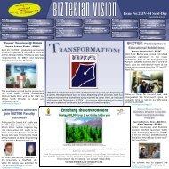 Biztekian Vision - Institute of Business & Technology
