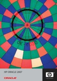 Oracle 2007 kiadvány - HP - Magyarország