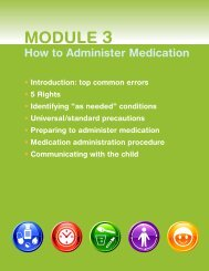 Module 3: How to Administer Medication - Healthy Child Care America